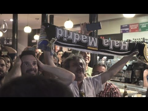 Champions League: Madrid fans cheer after Real victory