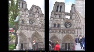 France - Paris - Beaubourg - Notre Dame - La Seine