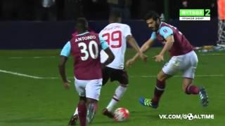 вест Хэм   Манчестер Юнайтед 1 2  Обзор матча  Кубок Англии 2015 16  1 4 финала