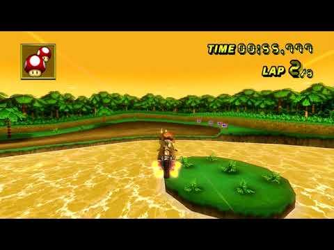 Download 【MKW WR】 N64 DK's Jungle Parkway (Spiral Skip) - 2:10.493 - Thomas