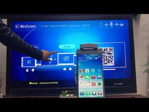 New MiraScreen Android Setup And Mirroring