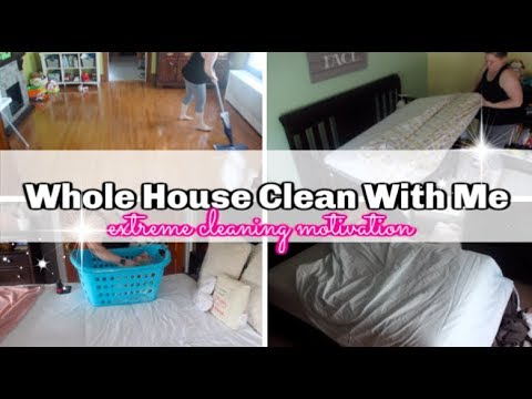 ULTIMATE CLEAN WITH ME | EXTREME CLEANING MOTIVATION | REARRANGING FURNITURE