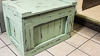 Make A Chest Out Of Pallets