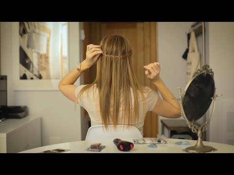 Easy Waterfall Braid With The Conair Quick Twist