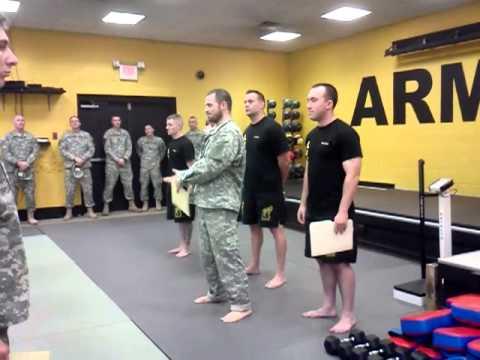 Haddontownship/Cherry Hill Krav Maga At Mission MMA-Award At Fort Dix NJ