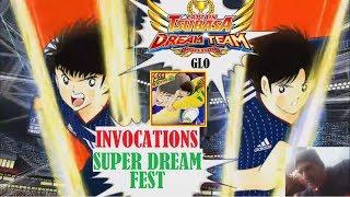 CAPTAIN TSUBASA DT (glo) INVOCATIONS SUPER DREAM FEST SANTANA
