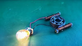 Amazing Science Free Energy Using Magnet Coil 100%