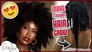 HAIR WON'T GROW: How To Fix It | Natural Hair