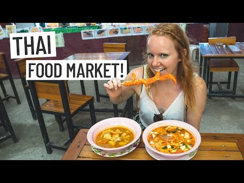 Thai Food! Delicious Tom Yum & Massaman Curry 🍽 + EPIC DRONE FLIGHT! (Phuket, Thailand)
