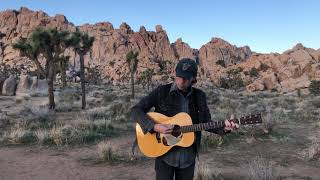 Roger Harvey sings 'Two Coyotes' (From LA To Austin - Live at Joshua Tree National Park)