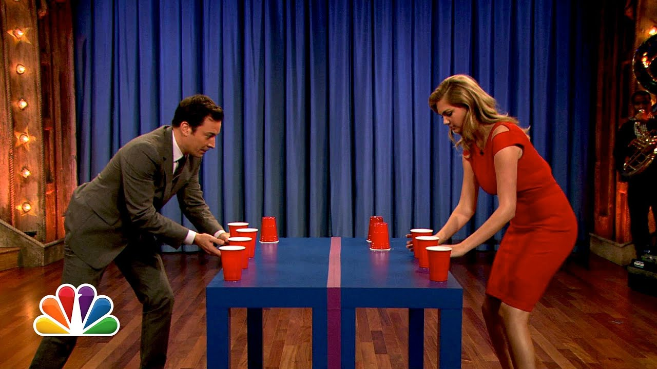 Download Kate Upton Is a Flip Cup Pro (Late Night with Jimmy Fallon)