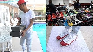 SECOND SHOE CONVENTION! I GOT SOME HEAT!!!! Vlog Series Ep.4