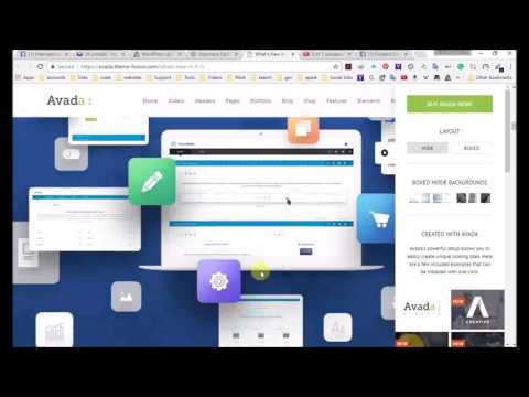 How to build your art website online store Updating the Avada theme 5 0 and plugins 2017