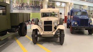 ГАЗ-55 появился в Музее автотехники УГМК