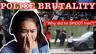 Korean Friend Reacts to Police Brutality and Jacob Blake Shooting