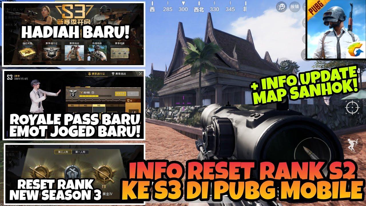 Info Reset Rank New Season 3 Royale Pass Baru Dan Update Map