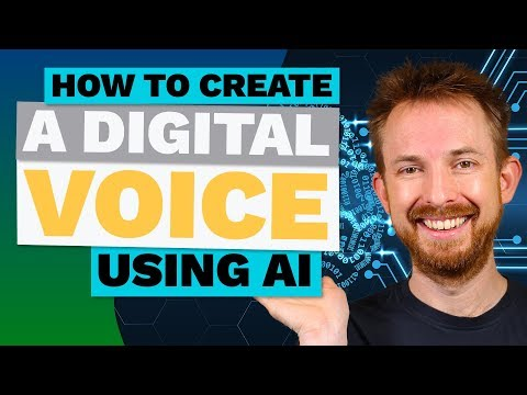 How to Create a Digital Voice (Copy of a Human Voice) with AI