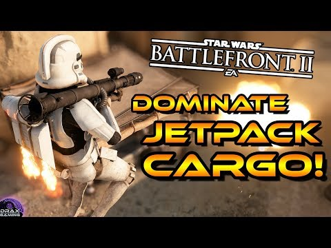 How to DOMINATE in JETPACK CARGO | Star Wars Battlefront 2 Tips and Tricks