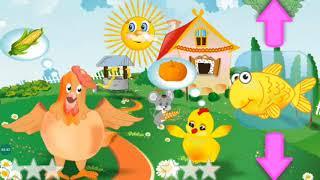 Well-fed farm - Farm Cartoons - Kids Learn Feeding Animals - Feeding Time Farm Animals Gameplay
