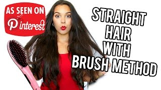 Beauty Busters: Poop or Woop? Straight hair with brush method?