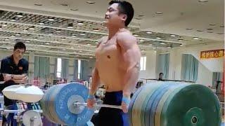 Best of Lu Xiaojun's training sessions│呂小軍最佳訓練│中國舉重