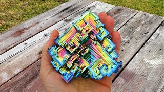 How to Make Bismuth Crystals At Home