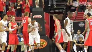 Highlights: #2 New Mexico 64, #1 San Diego State 58