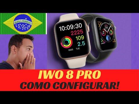 SMARTWATCH IWO 8 PRO ( T5 ) MINHA OPINIÃO APOS 3 MESES + CONFIGURAÇÕES ...