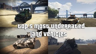 GTA Online Top 5 Most Underrated Land Vehicles Everyone Should Own and Why
