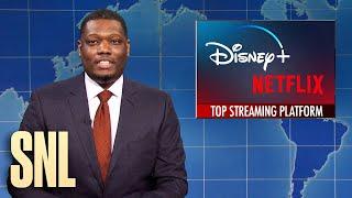 Weekend Update: Disney+ Overtaking Netflix \u0026 New Superman Is Bi - SNL