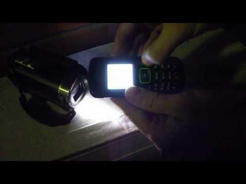 drop test - samsung gt-e1080w (10 meters)