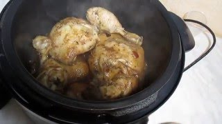 Куриные окорочка в мультиварке. Chicken legs in multivarka.