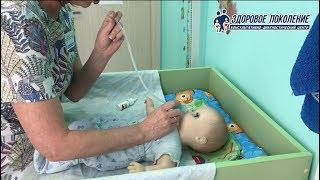 Как правильно промывать нос новорожденному?