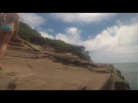 Repeat Cliff Jumping Great Falls - Potomac River by Nolan