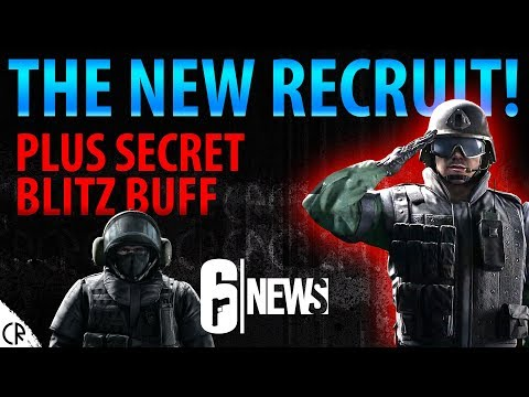 New Recruit! Plus Blitz Buff - Operation Chimera Outbreak - 6News - Tom Clancy's Rainbow Six