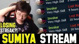 RED Day of SUMIYA (Epic) | Sumiya Invoker Losing Streak Stream Moment #837