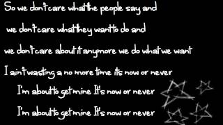 Outasight - Now or Never Lyrics [NEW 2012!] **