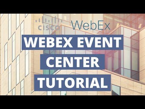 Cisco WebEx Event