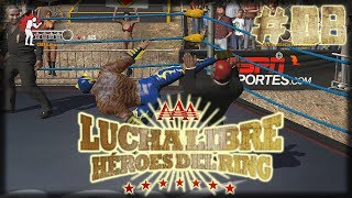 Lucha Libre AAA: Heroes Del Ring Technicos Story Mode - MASK VS HAIR - EP08