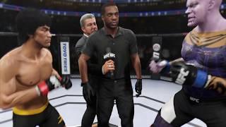 Bruce Lee vs. Thanos Marvel (EA Sports UFC 2)