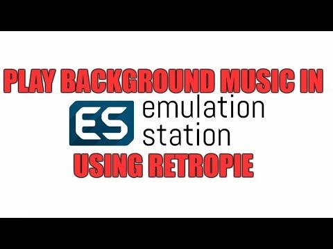 RetroPie: Background music in Emulation Station