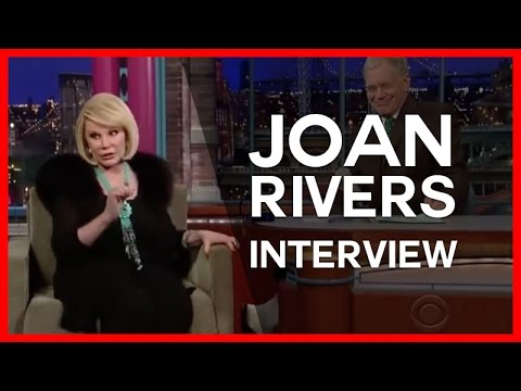 Joan Rivers Interview with David Letterman