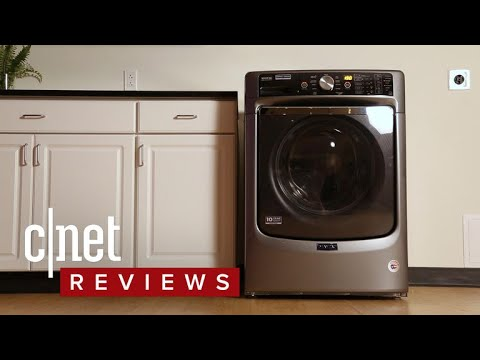 This Maytag can wash and dry your clothes -- sort of