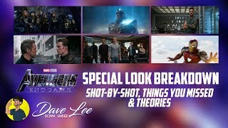 AVENGERS: ENDGAME - Special Look Trailer Breakdown, Things Missed & Shot By Shot Explained