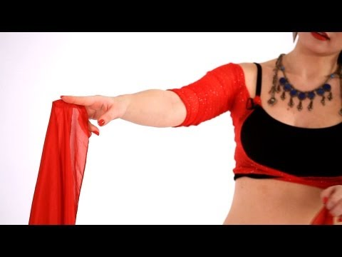How to Do a Veil Switch | Belly Dance