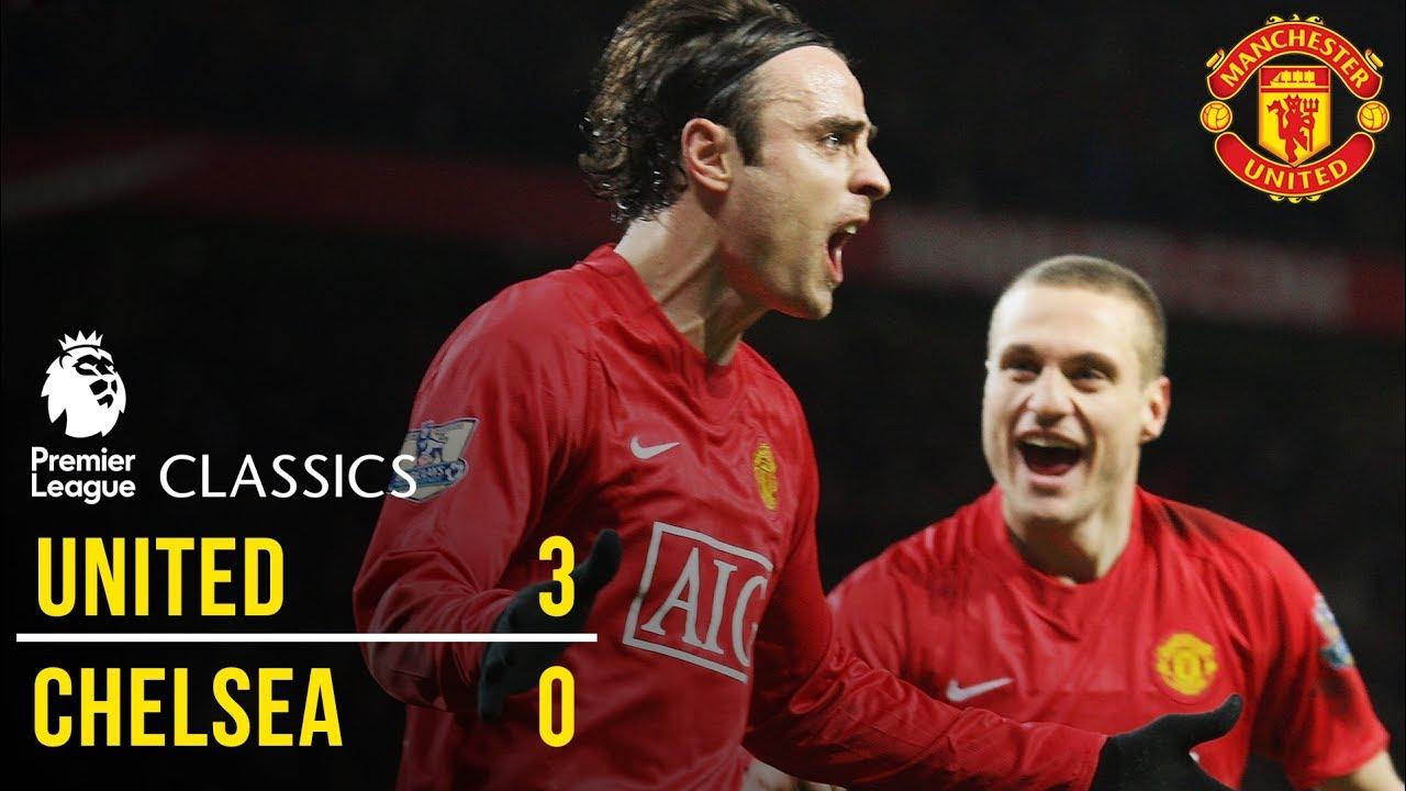 Manchester United 3 0 Chelsea 08 09 Premier League Classics Manchester United Youtube