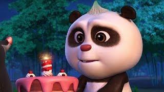 Кротик и Панда  - сборник - Лучшие вечеринки Кротика и Панды!-  развивающий мультфильм для детей