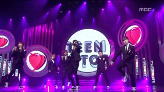 TEEN TOP - Girlfriend, 틴탑 - 걸프렌드, Music Core 20120303