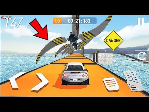 """Car Stunt Races - Mega Car Ramps Race """"S05"""" Android Gameplay Video"""
