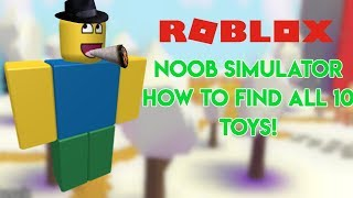 ROBLOX Noob Simulator All Toy Locations!